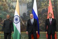 中印外相が会談、係争地域での緊張緩和で一致