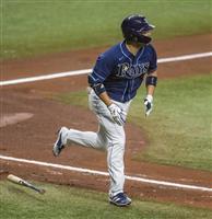 筒香、左腕から打線勢いづける7号本塁打