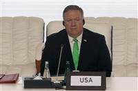 アフガン民主体制強要せず 米国務長官、タリバン配慮