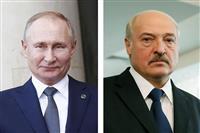 ロシア・ベラルーシ首脳、混乱収束策協議へ 日曜デモで400人拘束