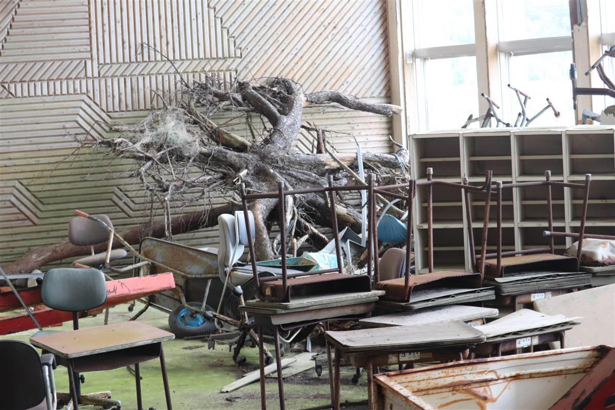 震災遺構の中浜小、26日から一般公開