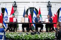 イスラエル、アラブ2国と国交正常化に署名 米ホワイトハウスで