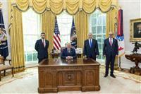 トランプ政権、「平和と繁栄」のメリット訴え積極外交 米中東戦略が歴史的前進