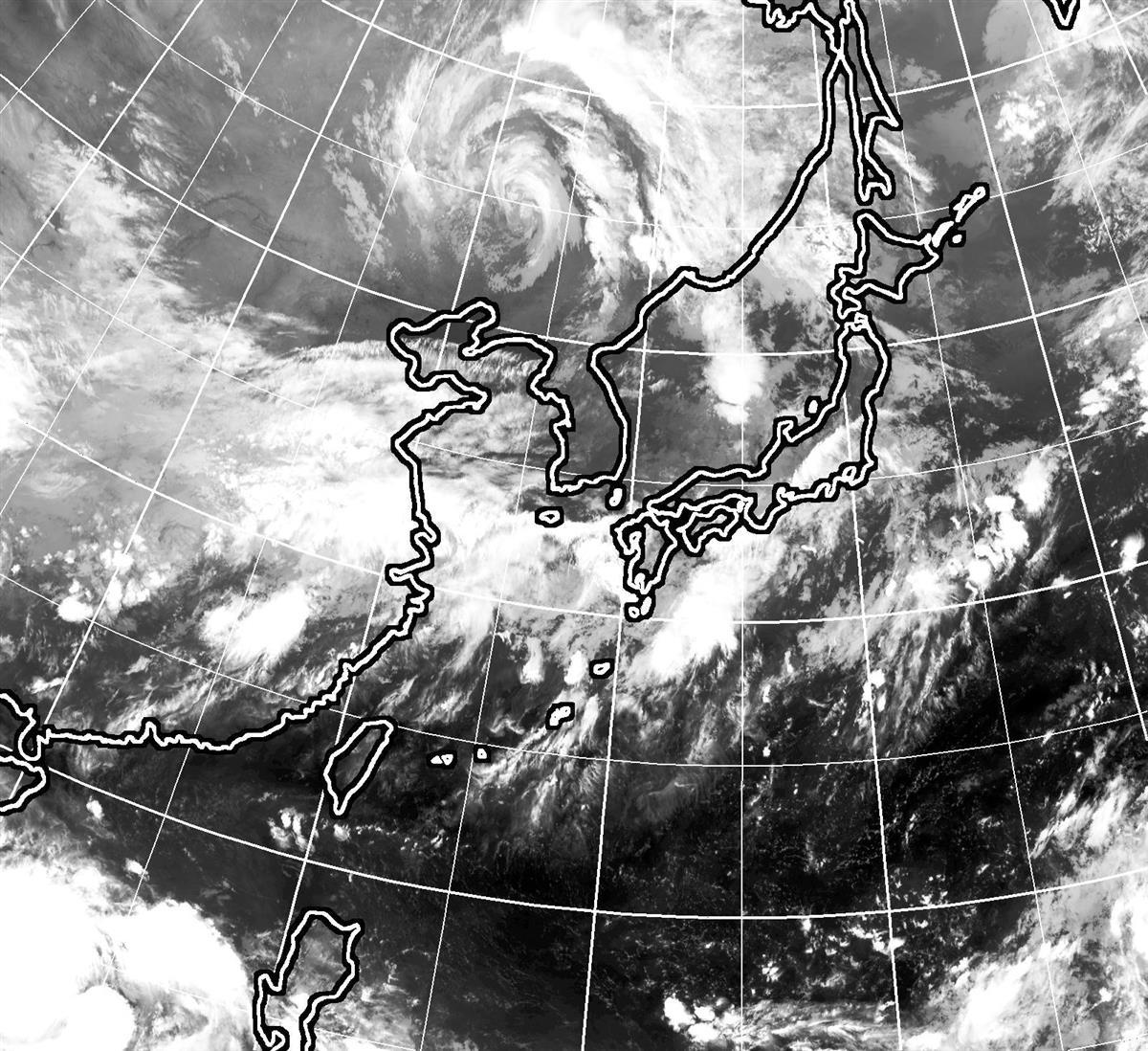 広い範囲で大雨の恐れ 西日本から北日本、大気不安定