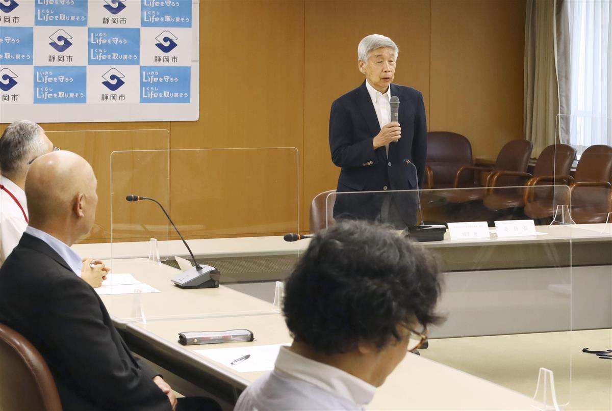 事故調査委が初会合 静岡・吉田町の倉庫火災