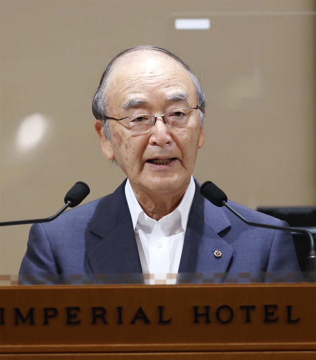 日商・三村会頭、新政権に「不確実の時代に強く豊かな国を」