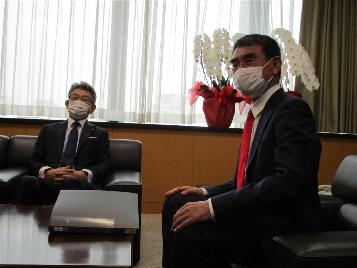 菅政権、本格始動 注目の河野氏は引き継ぎ式ドタキャンも、さっ…
