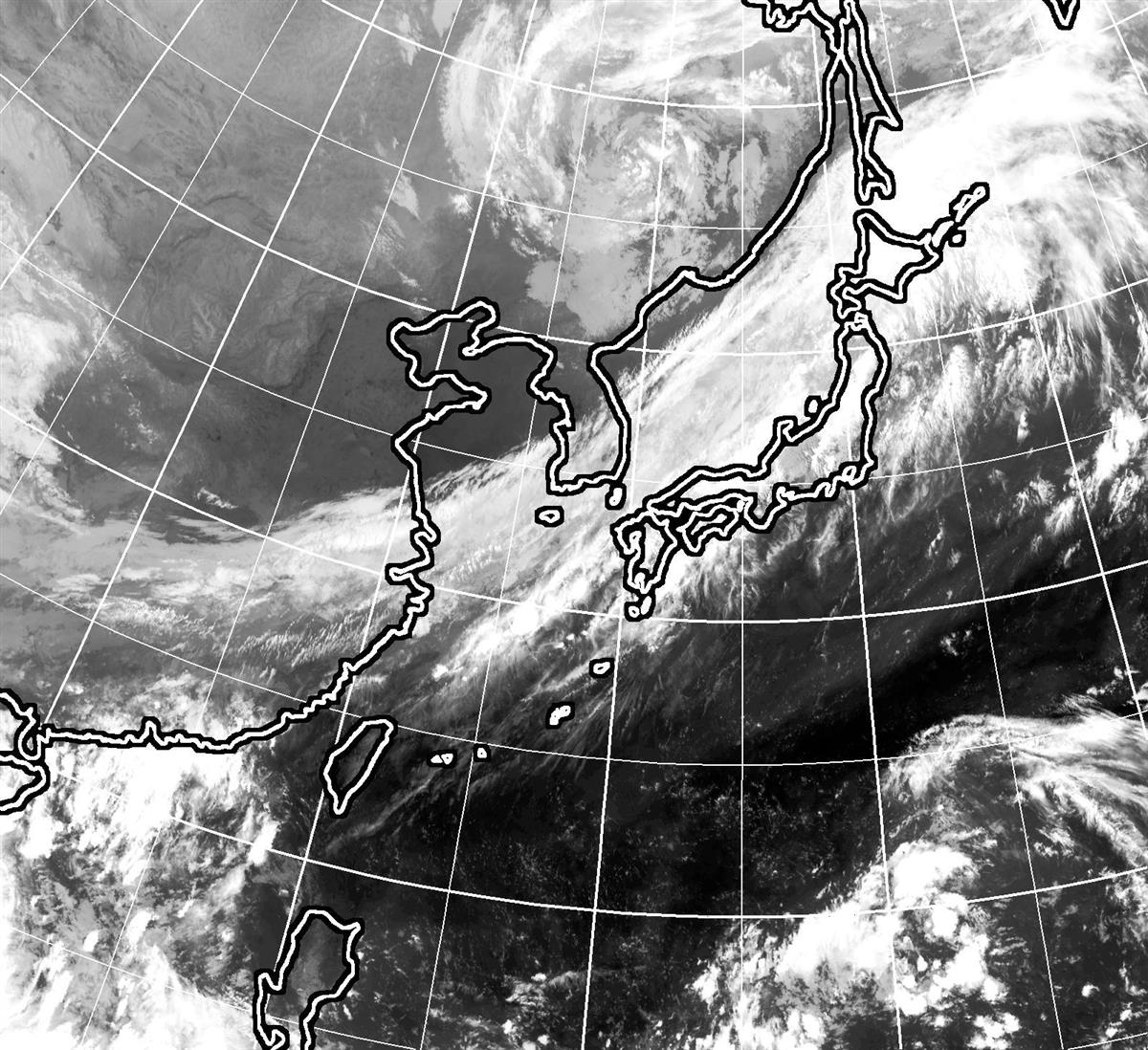 西~北日本で局地的大雨の恐れ 前線や低気圧影響