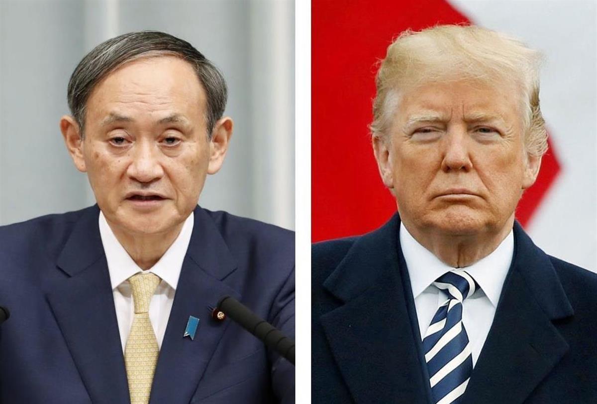 「あなたの一代記は素晴らしい」 トランプ大統領が菅首相に祝意