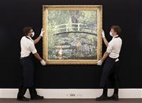 バンクシー作品10月競売へ 予想額4億円超、モネ題材