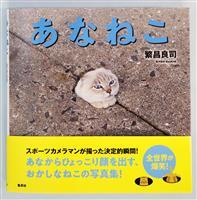 「あなねこ」求め写真集 福岡の繁昌さん、九州の離島で撮影