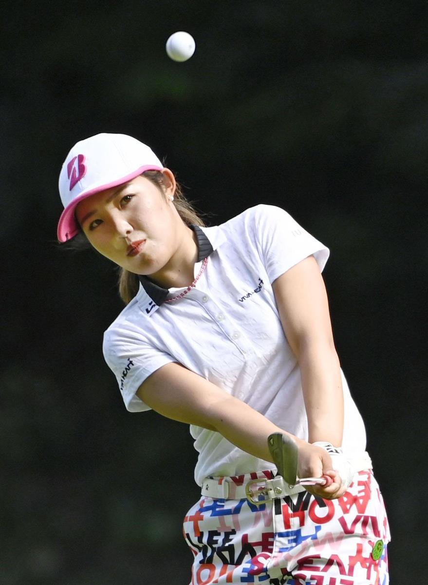 東浩子、古江彩佳が首位に並ぶ 東海女子ゴルフ第2日