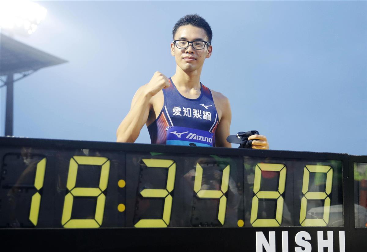 山西利和、日本新にも「想定内」 男子5000メートル競歩