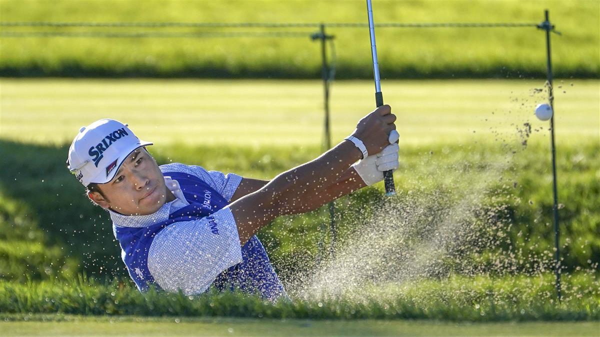 松山は70で5打差の4位 全米OPゴルフ第3日