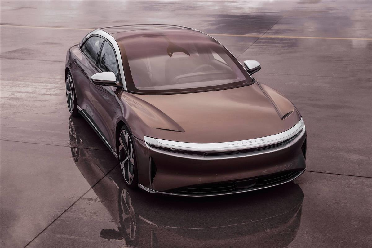 PHOTOGRAPH BY LUCID MOTORS