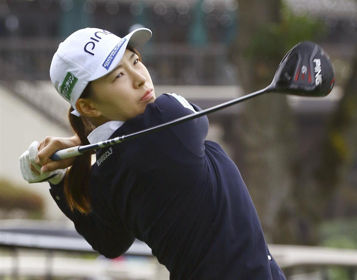 渋野24位、ホール2勝目 米女子ゴルフ