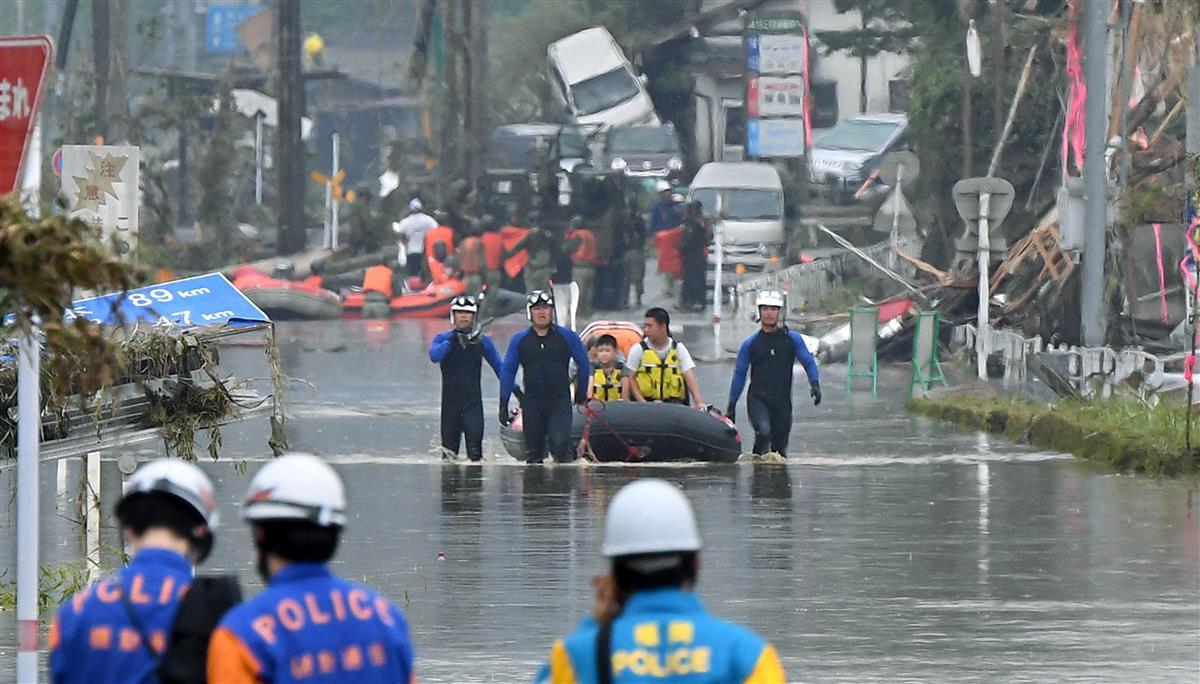 洪水危険度表示を統合へ 国交省と気象庁、縦割り解消し一体運用