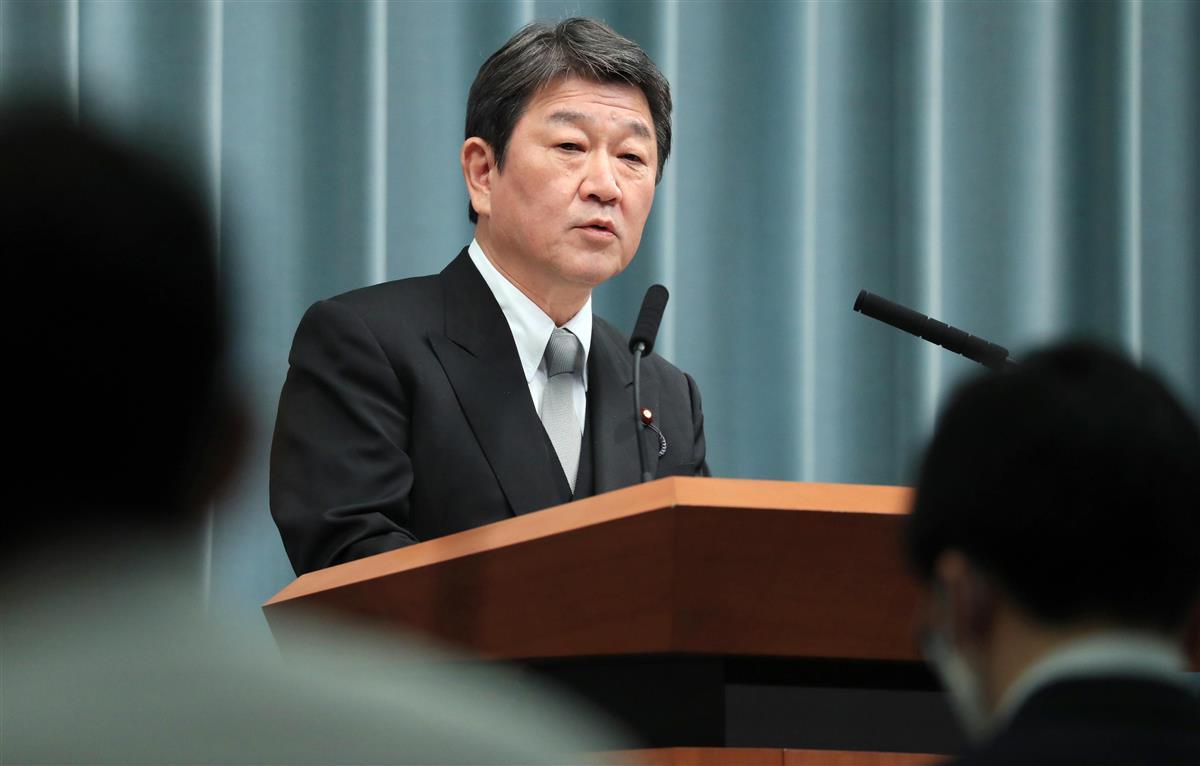 茂木外相、欧州歴訪を月内開始 中国にらみ「インド太平洋」推進