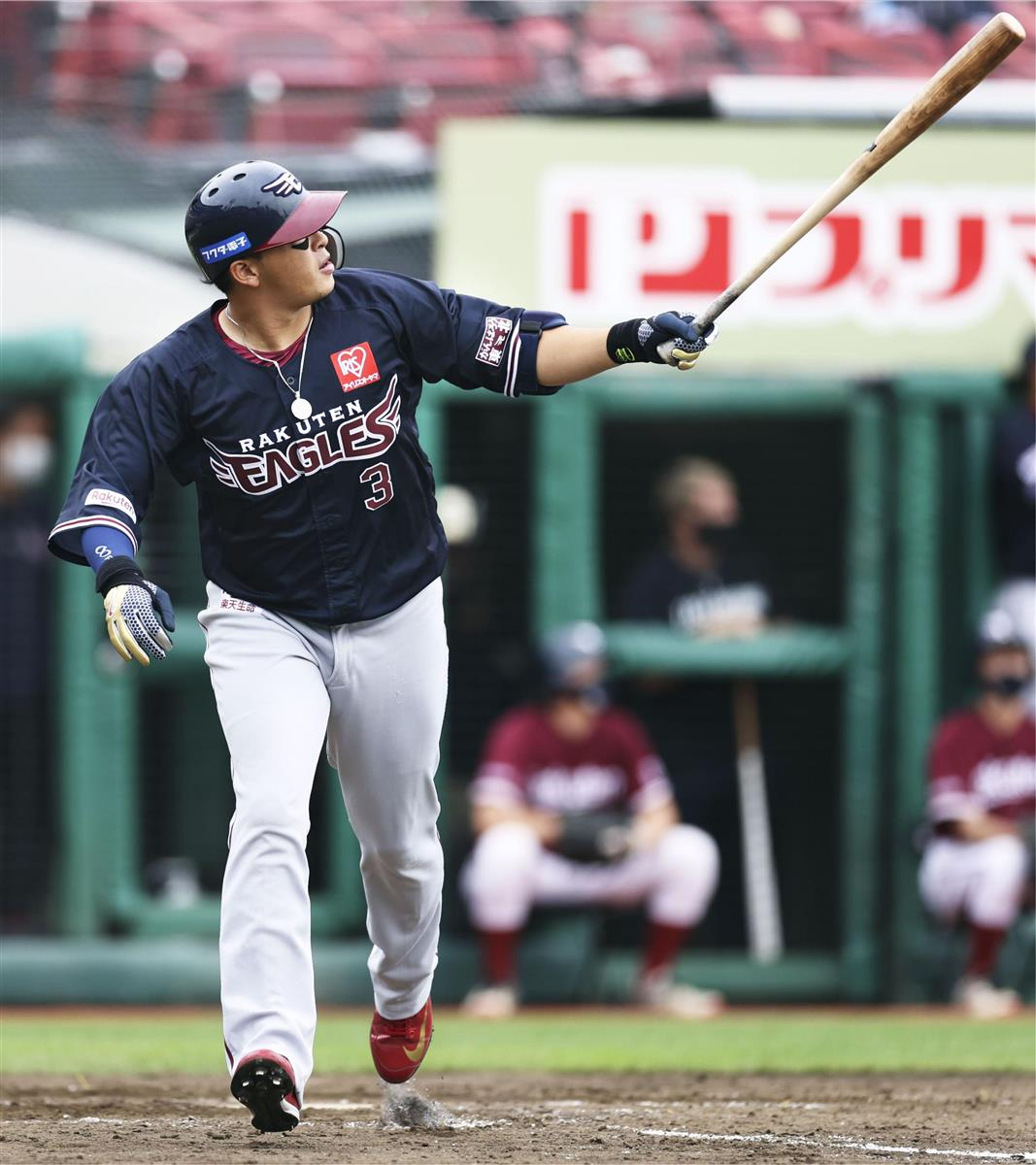 楽12-4ロ 浅村が3本塁打、楽天3連勝