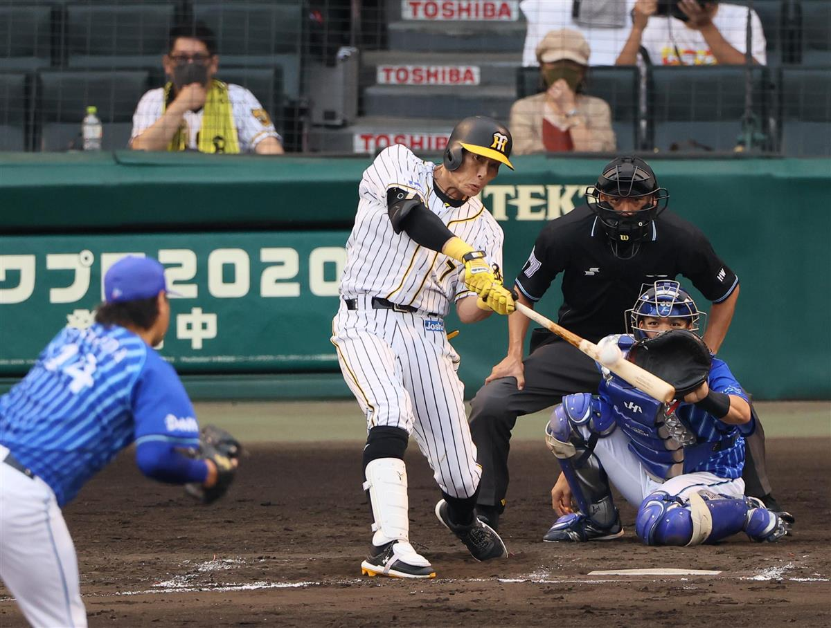 阪神糸井、3番起用に応える 今季初3打点で勝利に貢献