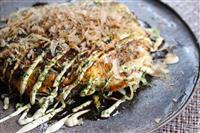 【料理と酒】広島風お好み焼き 豚玉そば入り