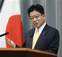 加藤官房長官、安倍前首相の靖国参拝「個人的と承知」