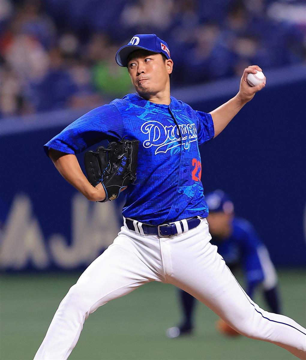 中3-0ヤ 大野雄、今季3度目の完封