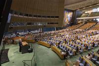 米中対立の国連総会、交錯する思惑 創設75年、機能不全に懸念