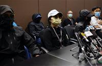 香港活動家ら12人拘束から1カ月 「自由への脱出」象徴に 国際社会にも関心広がる