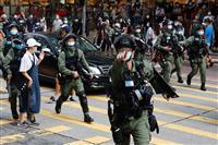 香港警察のメディア規制 記者協会が反発