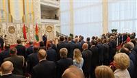 ベラルーシ大統領 就任式を予告なしに挙行