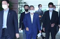 日韓首脳の初会談、関係悪化の影「あの人と長く話しても…」