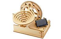作って、遊べて、学べる。工具なしで組み立て可能な動く木製パズル
