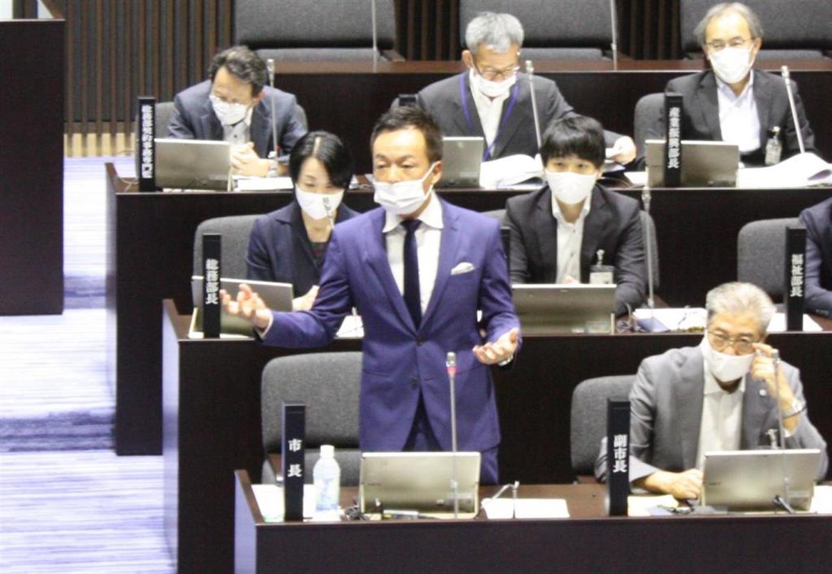 下関市長選 前田氏、再選出馬を表明 コロナ対応に注力「停滞感…