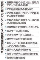 東京五輪・パラの簡素化、コスト削減効果は限定的