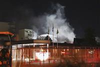 東洋紡工場火災、2人死亡 愛知・犬山、1人けが