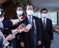 公明代表「菅政権支える」 首相の党大会出席に謝意