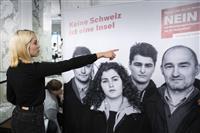 EUとの移動自由を維持、スイス国民投票、混乱回避