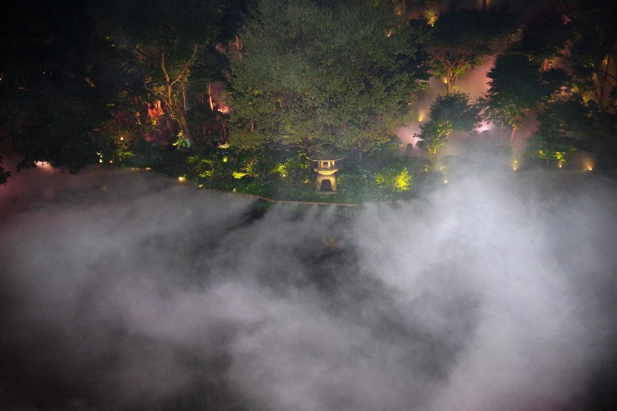 椿山荘「東京雲海」2