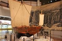 2年半の別れまでもうすぐ 司馬遼太郎が称えた北前船模型