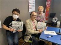 【check!ラジオ大阪】戦後75年 「復興した大阪の姿を残したい」 イラストレーター…