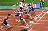 桐生が10秒27で2度目優勝 陸上日本選手権第2日