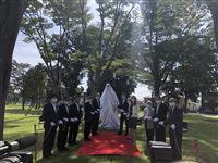 栃木「母子像」設置 ハンガリー友好のシンボルに
