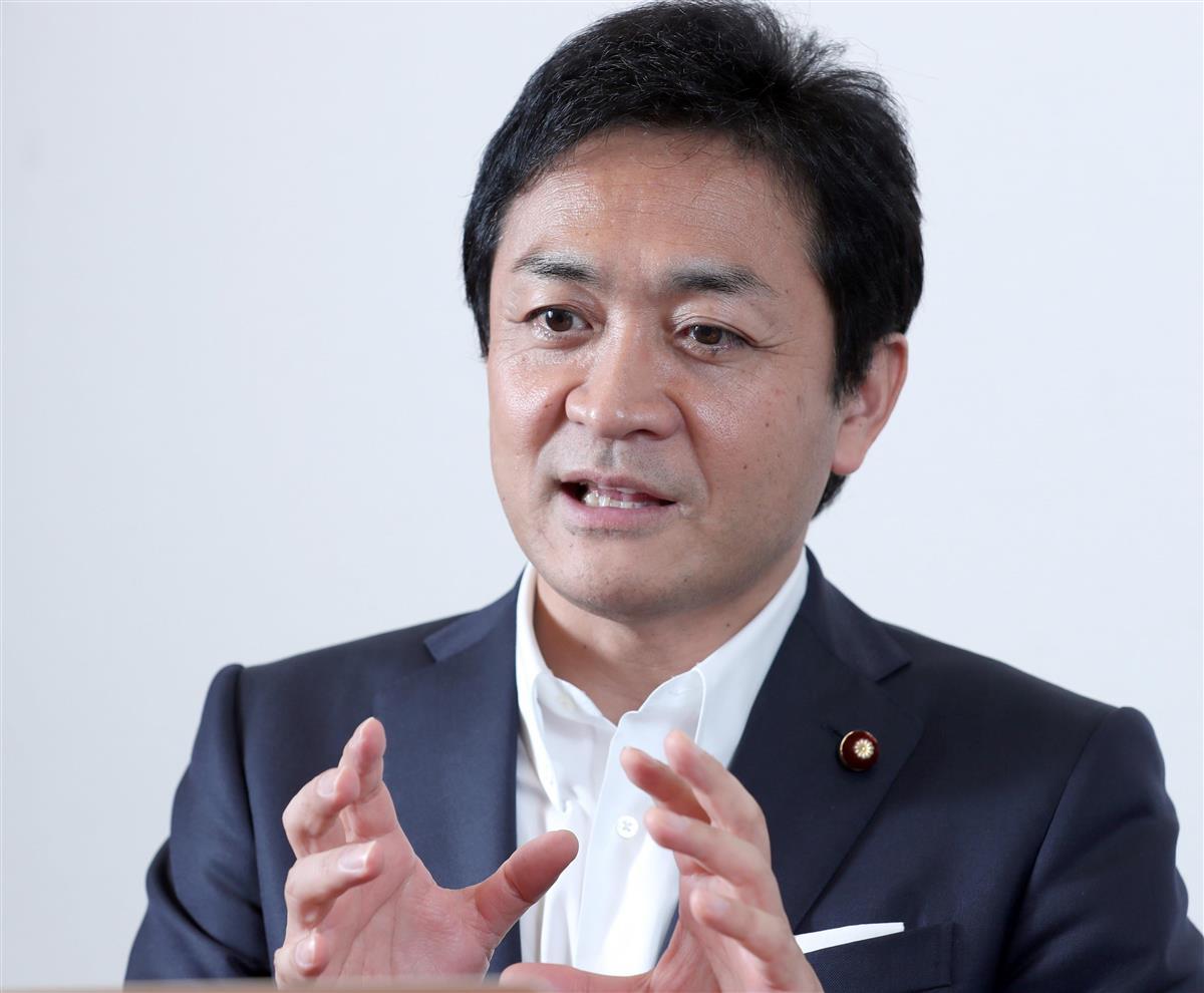 国民民主党・玉木雄一郎代表=9月25日午後、国会内(春名中撮影)