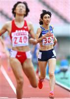 田中、女子800メートルは4位 2冠ならず「勝ちたい気持ちが弱かった」
