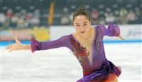 3回転半着氷の樋口 「次につながる」 フィギュアのジャパン・オープン