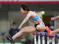 女子100メートル障害制した青木「伸びしろまだまだある」 日本選手権