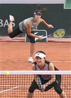全仏テニス女子複8強の青山「四大大会で優勝したい」