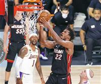 ヒートがレーカーズに初勝利 NBA決勝第3戦