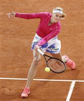 シチパス、クビトバが8強 全仏テニス第9日